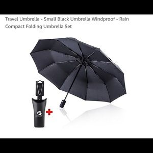 Other - TRAVEL UMBRELLA with Holder